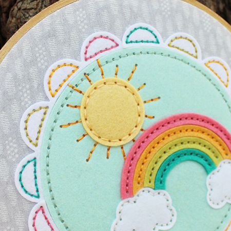 Sunshine & Rainbows Hoop 4