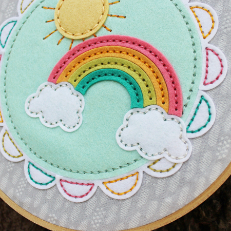 Sunshine & Rainbows Hoop 3