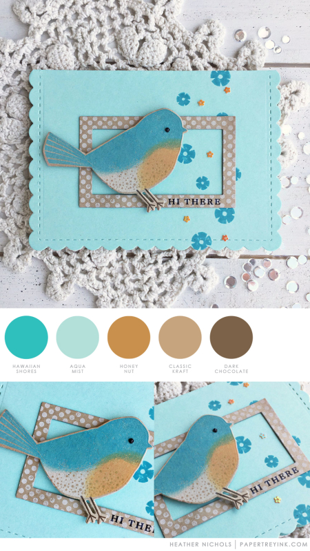 Hi There by Heather Nichols for Papertrey Ink