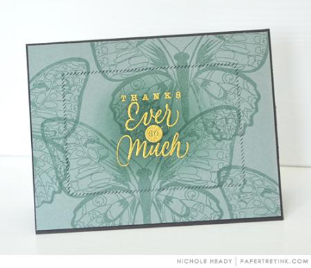 Ocean Tides Thank You Card