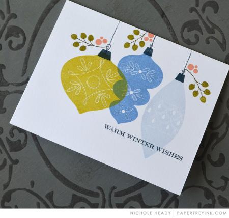Ornament Trio Card